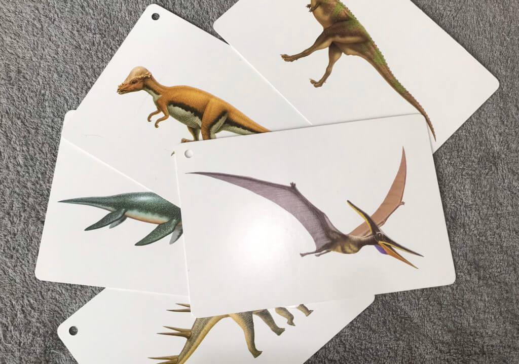 おすすめくもんの恐竜カード
