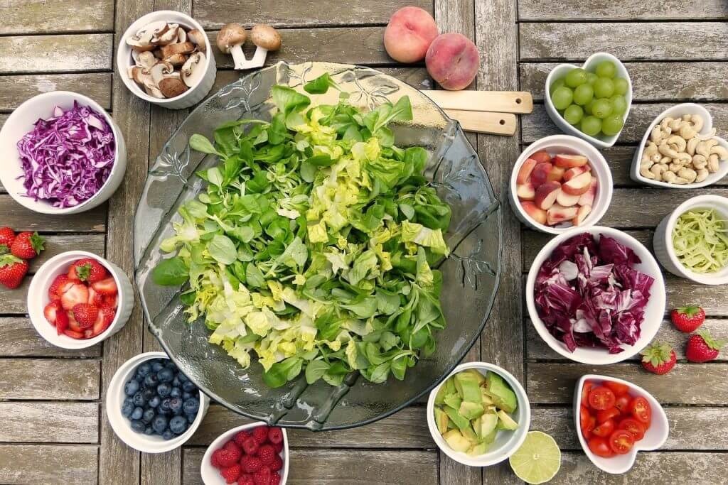 葉酸をたくさん含む食材