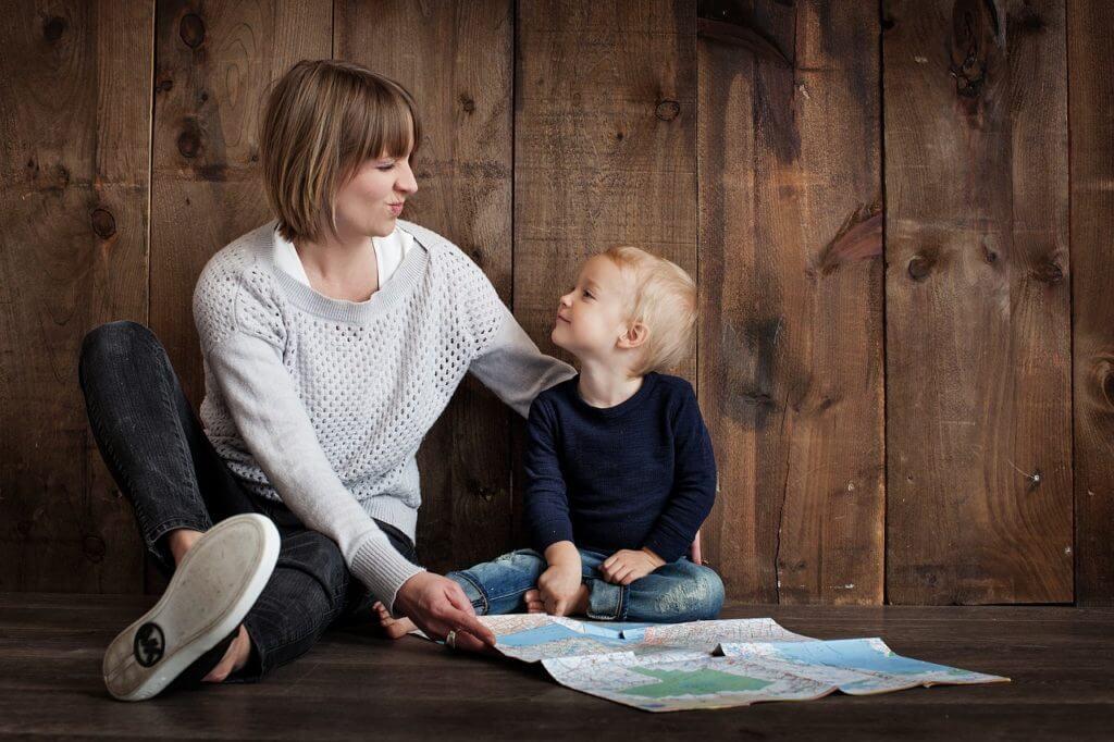 子供に対して理論的に話す