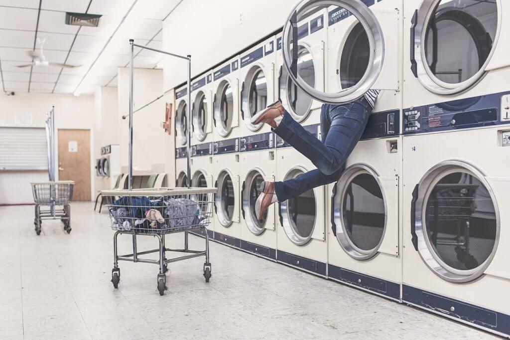 洗濯機は夕食前にまわす