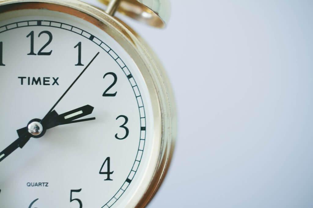 意識する時間を決める
