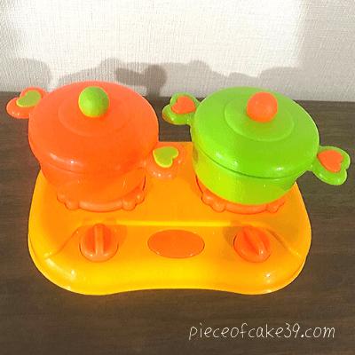 2歳のおすすめ知育玩具「ままごとセット」